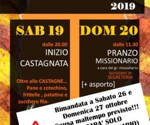 Castagnata RIMANDATA