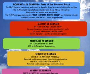 Settimana di San Giovanni Bosco
