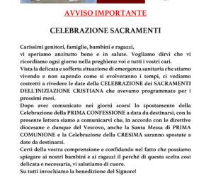 Celebrazioni Sacramenti