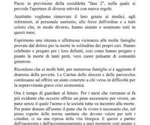 Comunicato dei Vescovi Lombardi