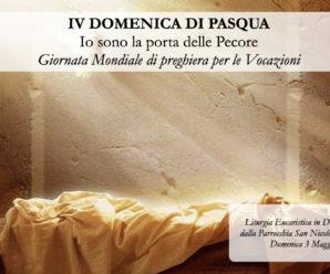 IV Domenica di Pasqua – Domenica 3 Maggio 2020, Ore 10:00